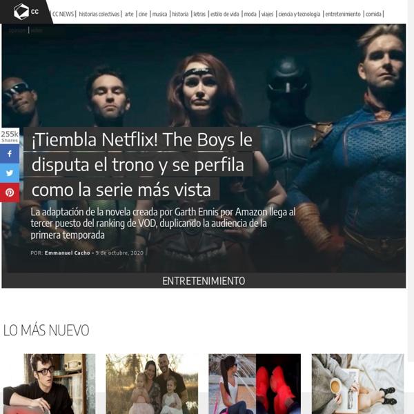Cultura Colectiva - Medio de difusión cultural y plataforma de apoyo al talento artístico emergente
