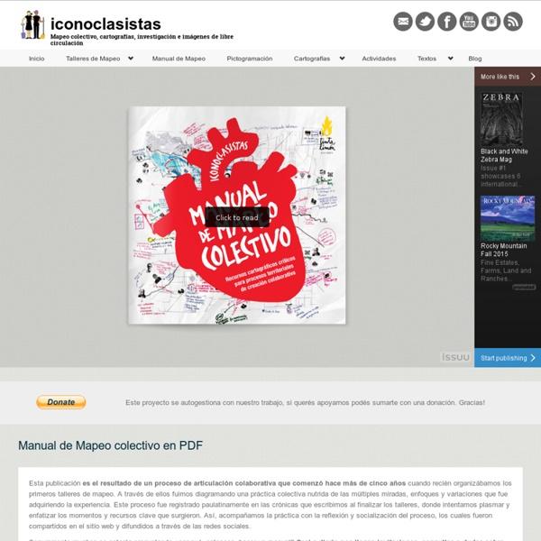 Manual de Mapeo colectivo en PDF