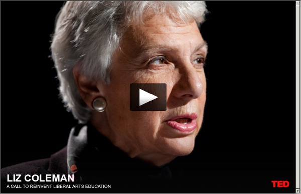 Liz Coleman's call to reinvent liberal arts education