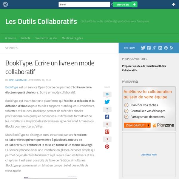 BookType. Ecrire un livre en mode collaboratif