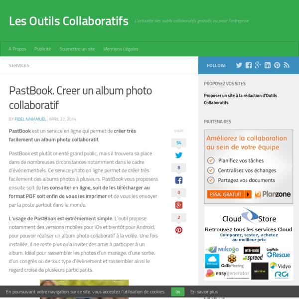 PastBook. Creer un album photo collaboratif