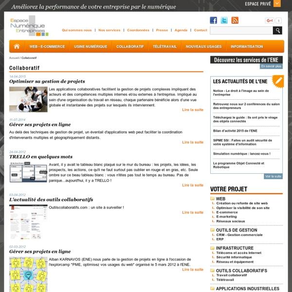 Travail collaboratif, collaboration, portail collaboratif, gestion de projet, gestion documentaire