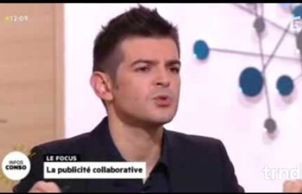Le Marketing Collaboratif de trnd dans La Quotidienne de France 5