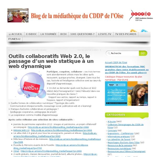 Outils collaboratifs Web 2.0