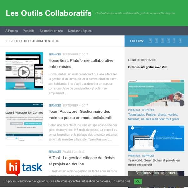 Les Outils Collaboratifs - L'actualité des outils collaboratifs gratuits ou pour l'entreprise