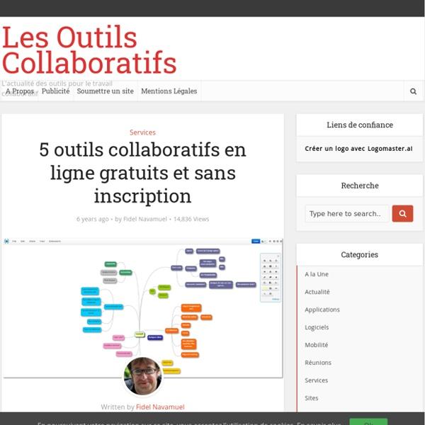 5 outils collaboratifs en ligne gratuits et sans inscription