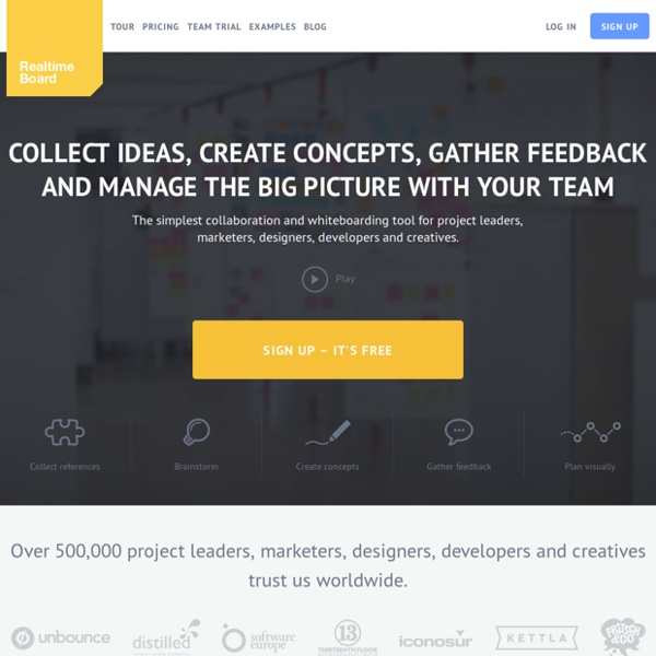 Online whiteboard & online collaboration tool