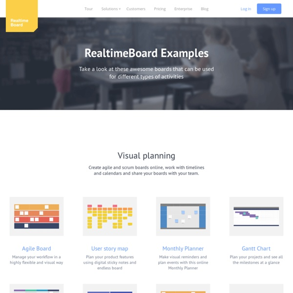 Examples of projects, Online Whiteboard