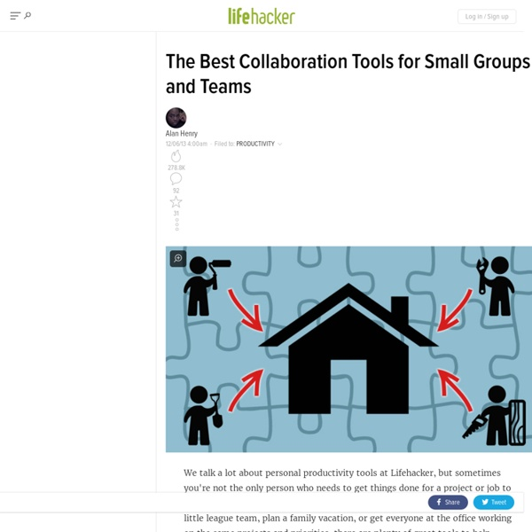 The Best Collaboration Tools for Small Groups and Teams