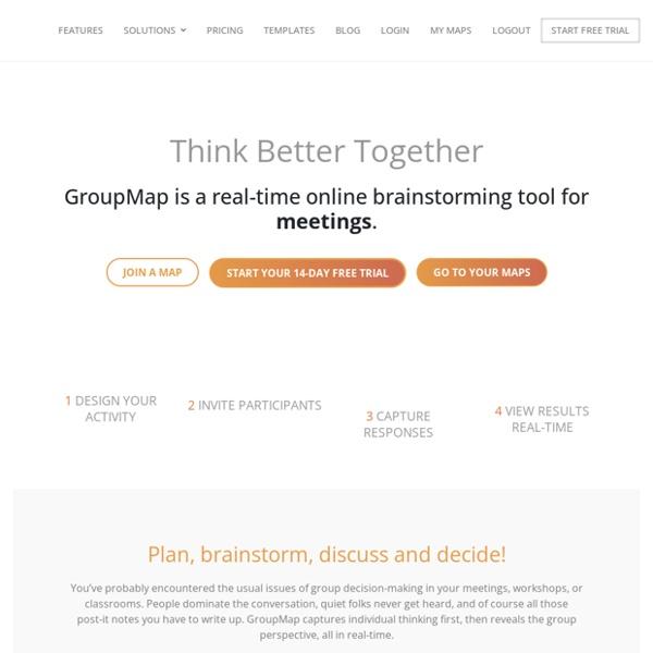 Group Brainstorming Tools
