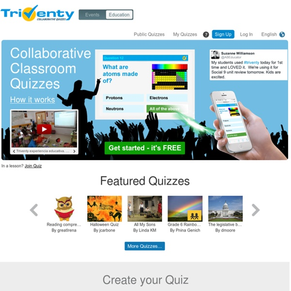 Collaborative Classroom Quizzes & Surveys