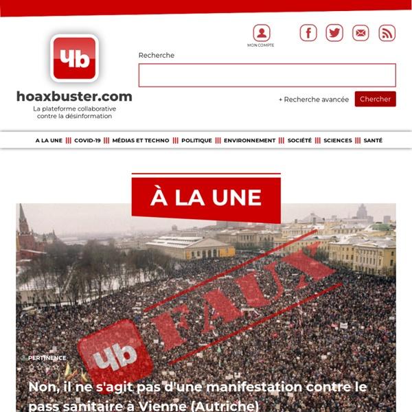 Premiere ressource francophone sur les hoax