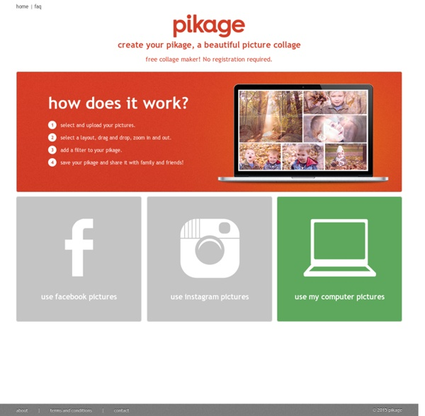 Pikage - collage maker, create a beautiful picture collage