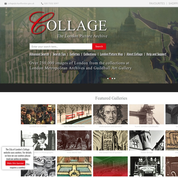 Collage - London Picture Archive