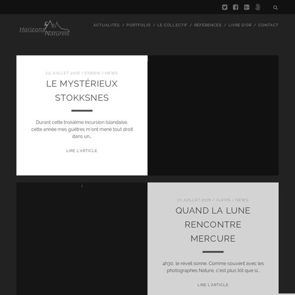 Horizons Naturels – Collectif Français de Photographes Nature