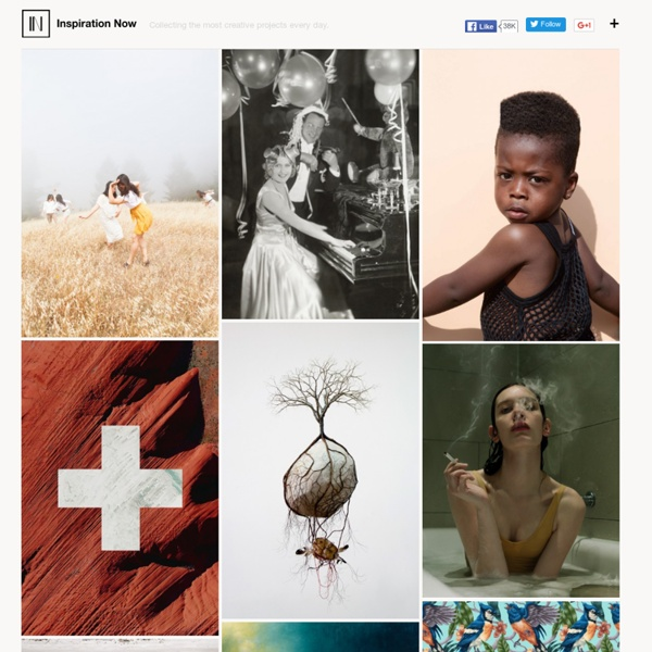 Collecting ideas since 2013 › Inspiration Now