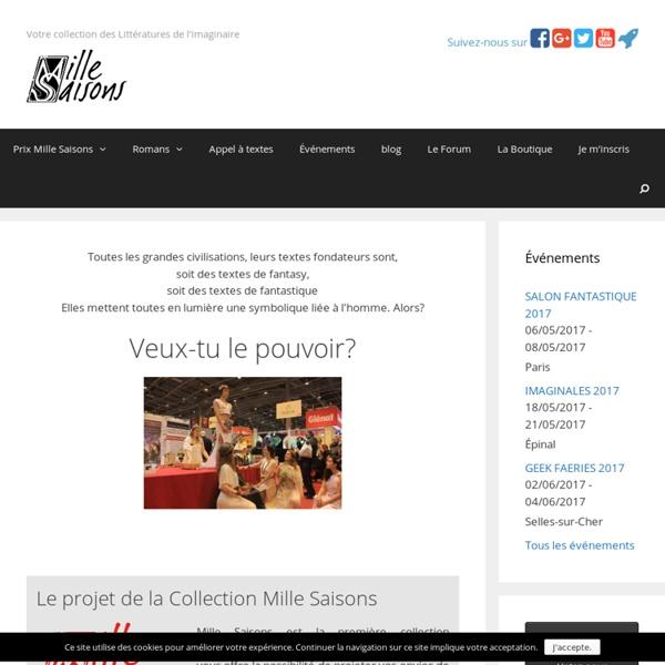 Boutique de Mille Saisons - Fantasy, Fantastique, E-Book