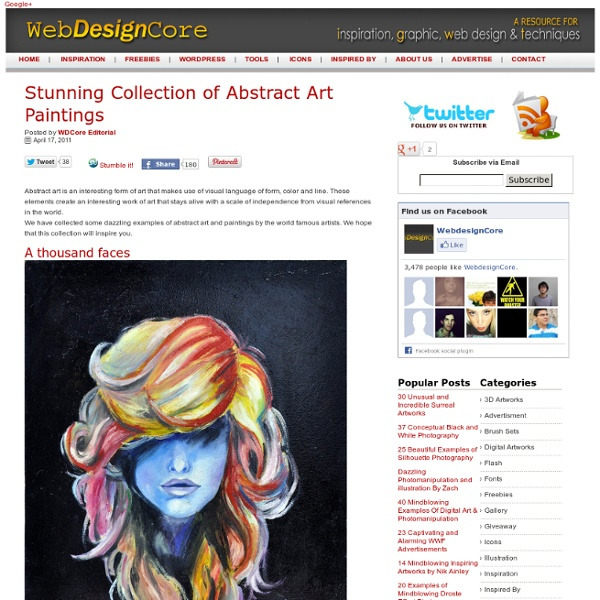 Stunning Collection of Abstract Art Paintings
