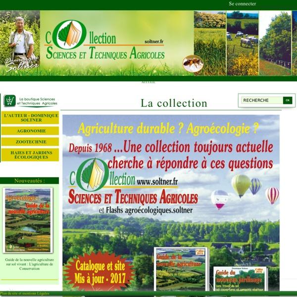 Collection Sciences et Techniques Agricoles