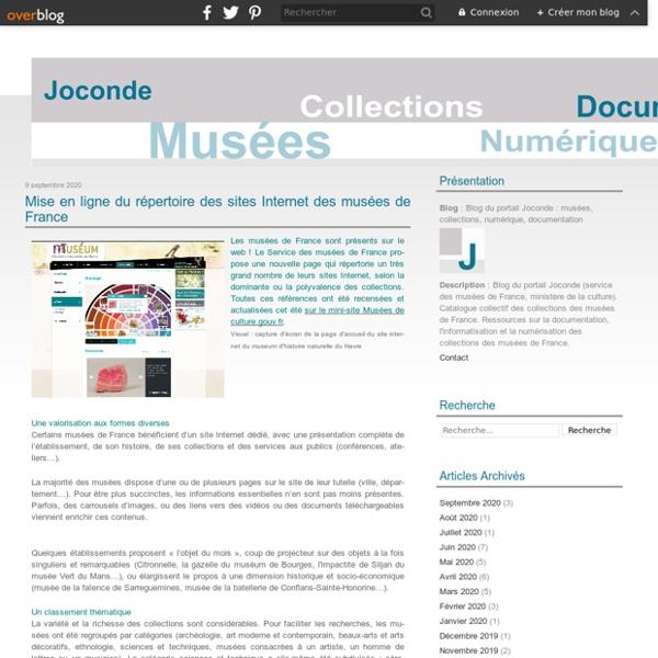 Le blog de Joconde - Portail des collections des musées de France / Ministère de la culture