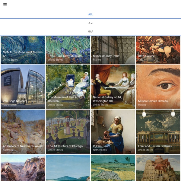 Collections - Google Cultural Institute
