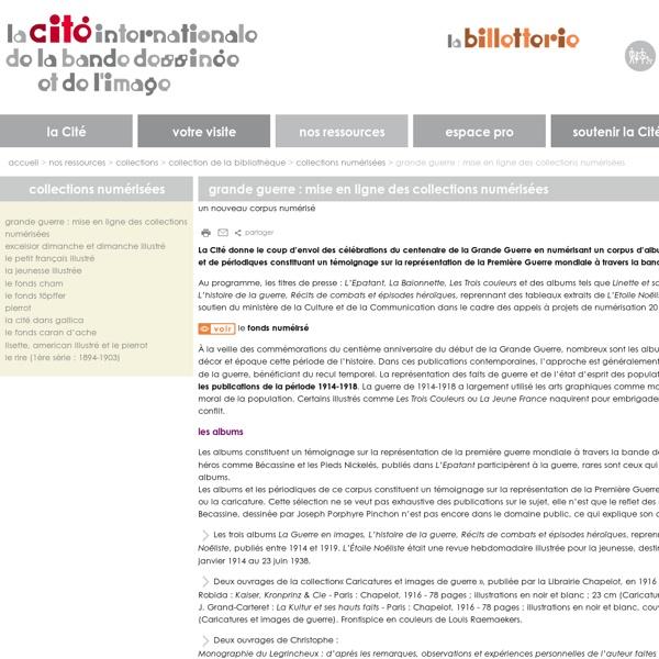 BD : mise en ligne des collections numérisées