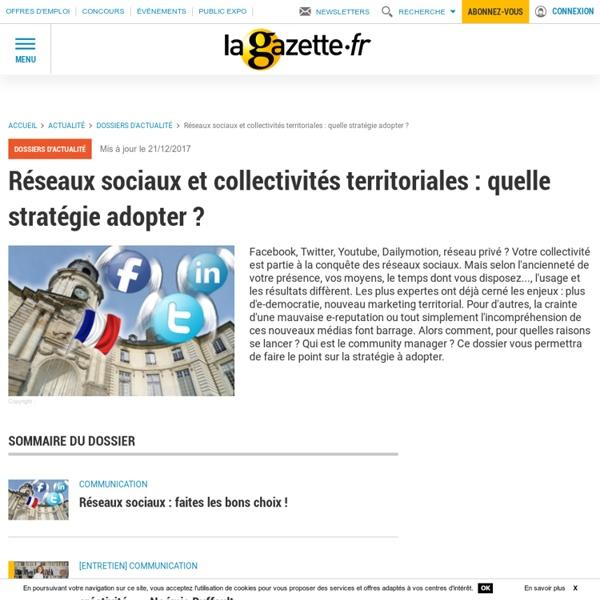 Réseaux sociaux et collectivités territoriales : quelle stratégie adopter ?