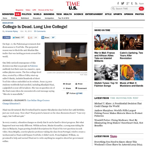 College Is Dead. Long Live College!