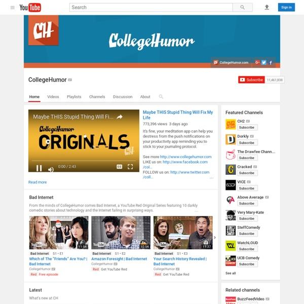 Collegehumor's Channel