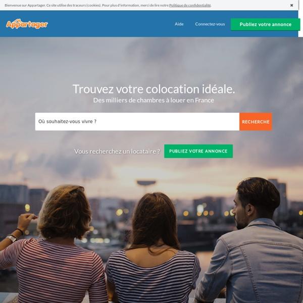 Colocation Paris & France, 90 000 Annonces de colocation et de colocataires