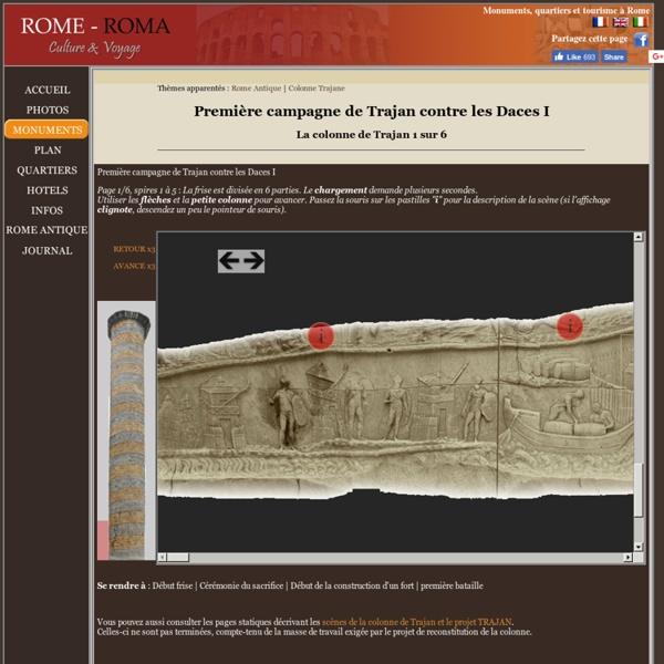 Colonne de Trajan - Première campagne - 1 sur 6