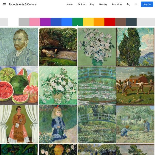 Explorer par couleur — Google Arts&Culture