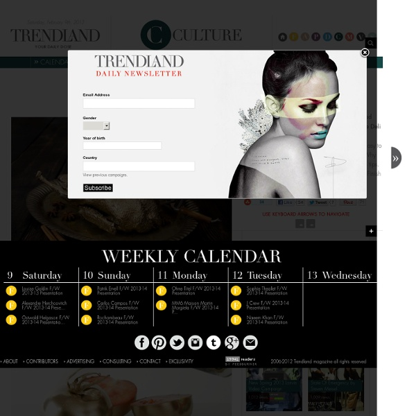 Trendland: Fashion Blog & Trend Magazine - StumbleUpon
