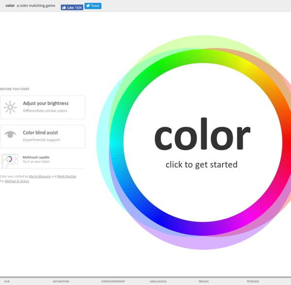 Color — Method of Action
