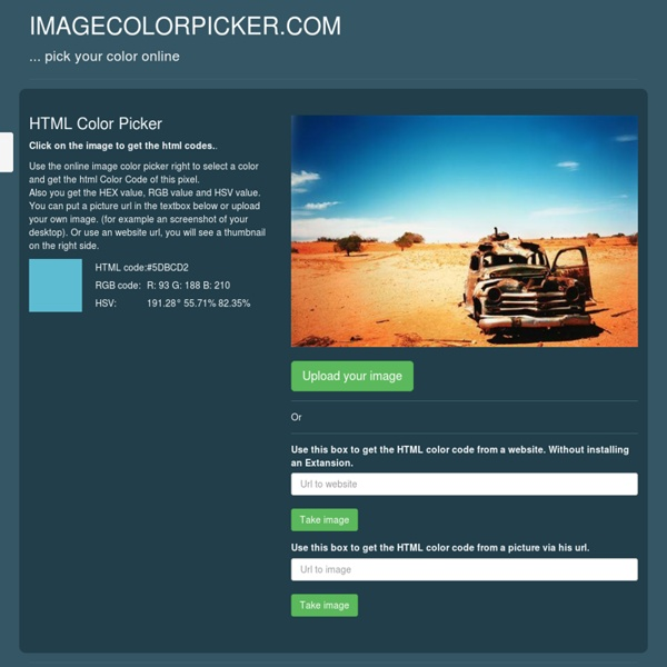 Color Picker online