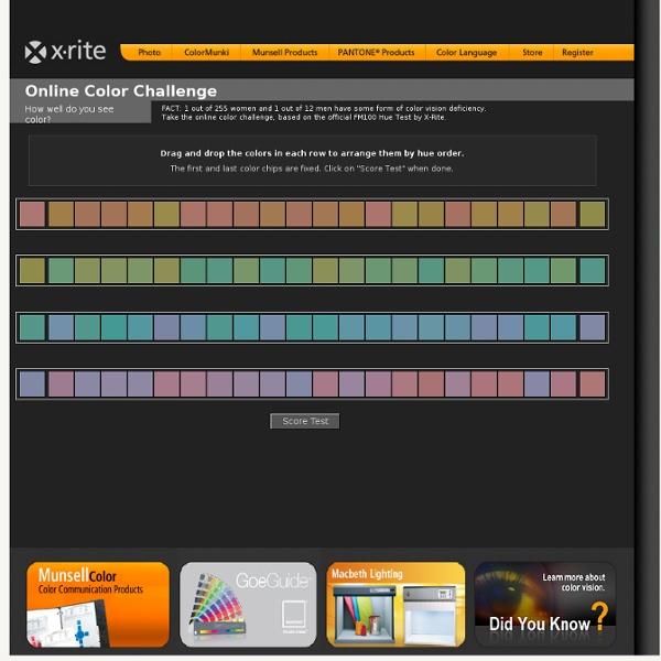 Color Test - Online Color Challenge