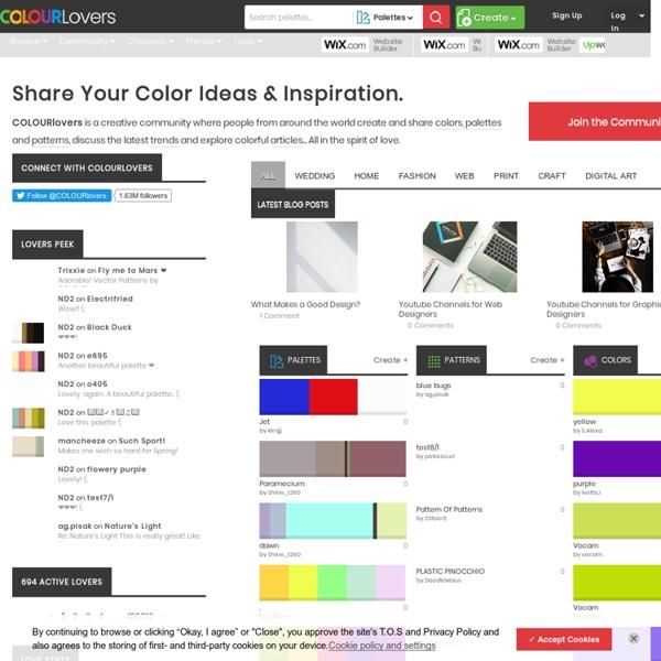 Color Trends + Palettes