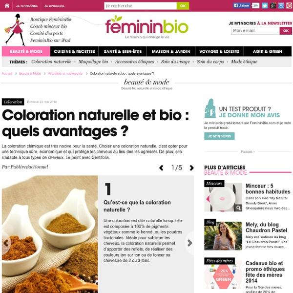 Coloration naturelle et bio : quels avantages