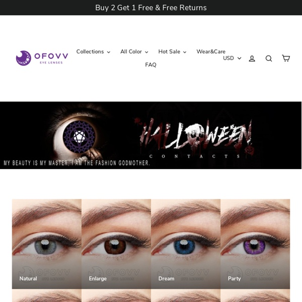 Buy Cheap Colored Contacts Eye Lenses At Ofovv® Official Online Store