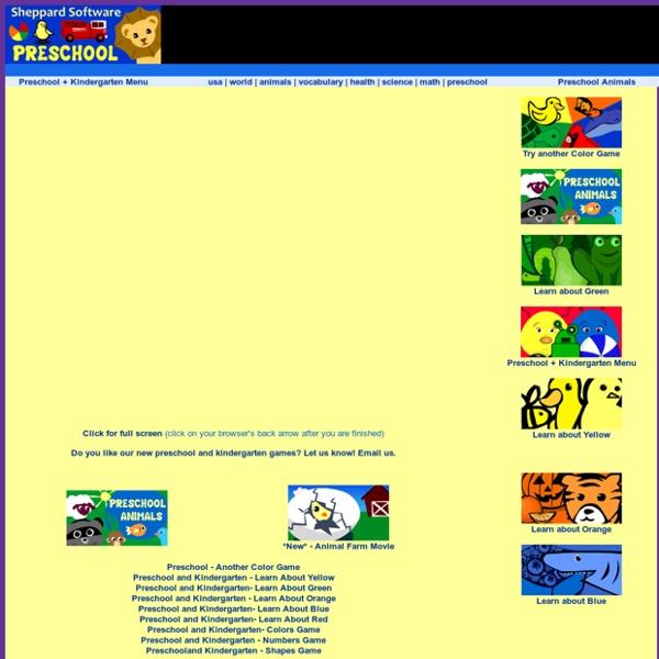 Colors - Preschool Games