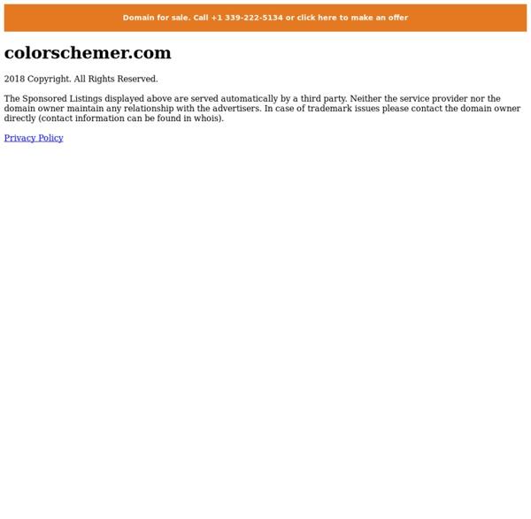 Online Color Scheme Generator