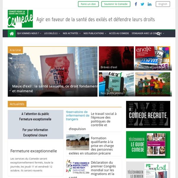 Accueil du site - COMEDE