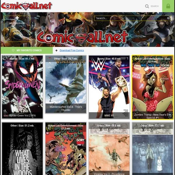 Comics, Download Free Comics