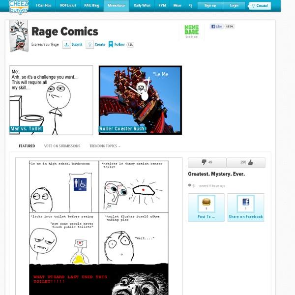 Rage Comics - Express Your Rage - rage comics