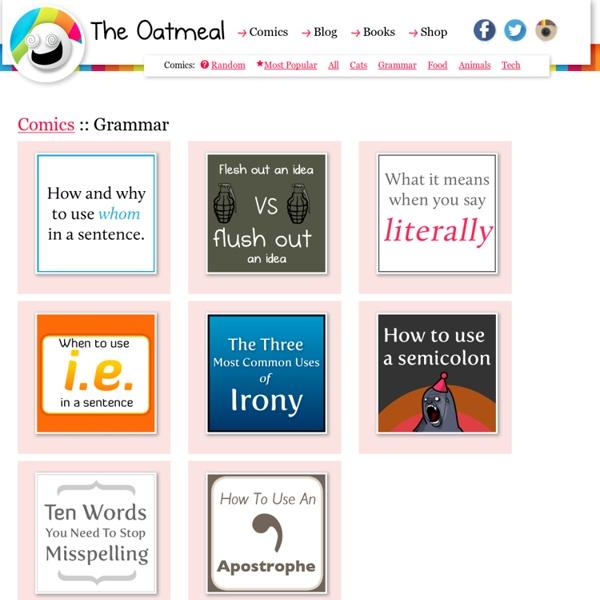 The Oatmeal - Comics