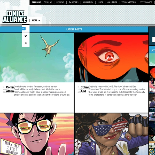 ComicsAlliance - Comic book culture, news, humor and commentary.