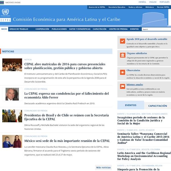 CEPAL - Comisión Económica para América Latina y el Caribe