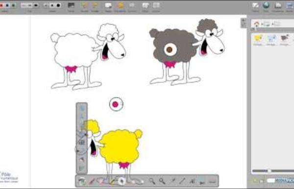 Comment créer une animation avec Open Sankoré V1