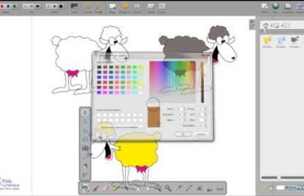 Comment créer une animation avec Open Sankoré V2