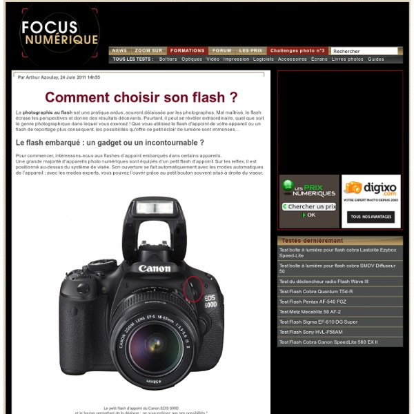 Comment choisir son flash ?